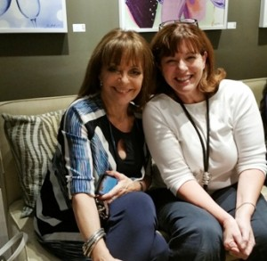 "Christine Bentley (L) and Kate Wheeler (R) from SiriusXM's ""What She Said"" radio show"